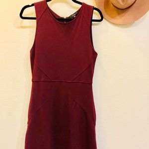 Sanctuary Dress, Burgundy Sz S
